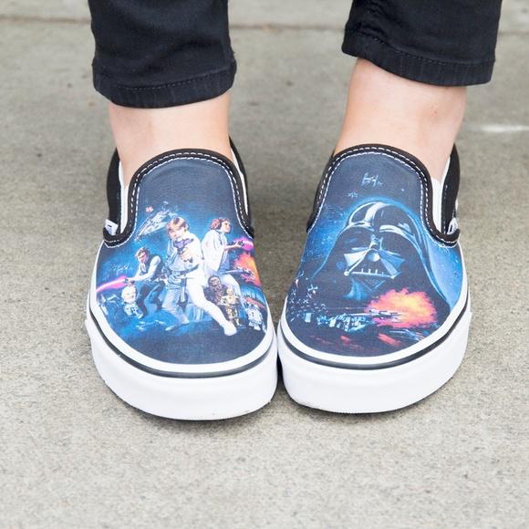 cb0cc78cbb Vans x Star Wars Cllection Classic Slip On Shoes. M 5b184582bb76155a7b1c0a3f